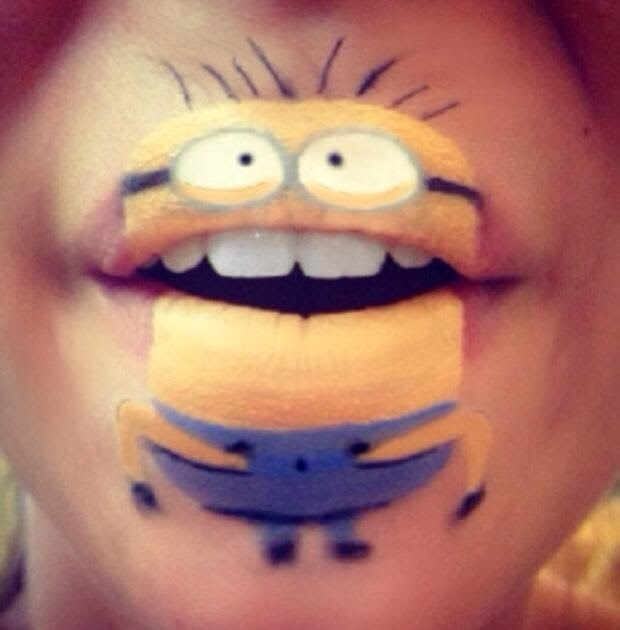 bouche-maquillee-minions