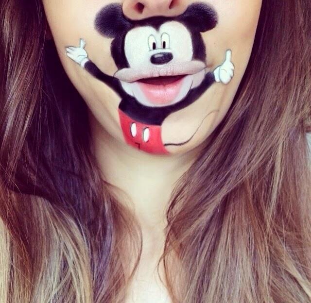 maquillage-bouche-mickey