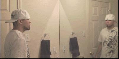 pistolet-miroir