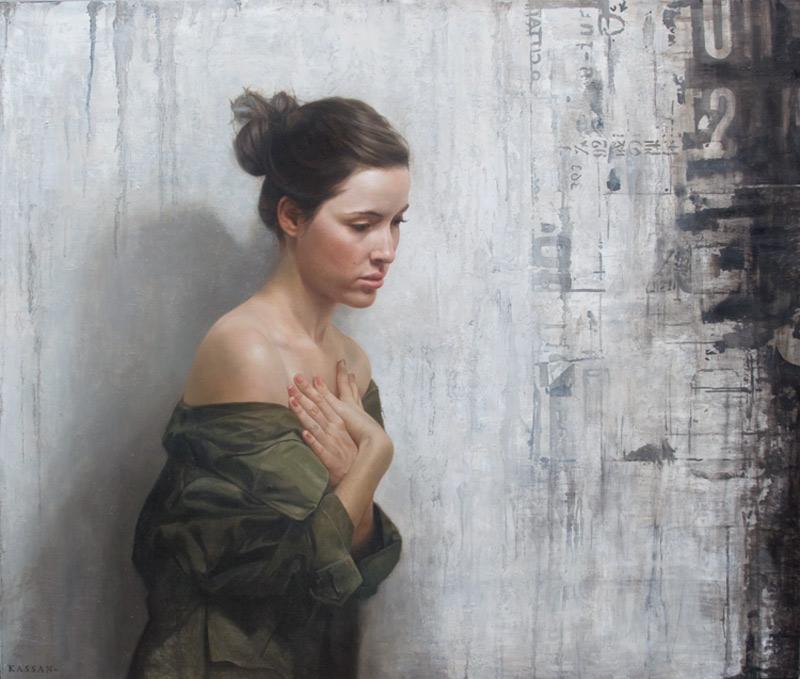 Peintures Realistes Sur Un Mur Par David Jon Kassan