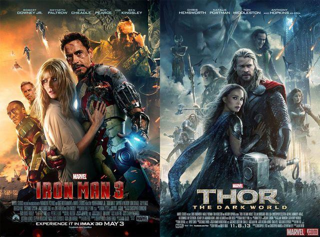 affiche-iron-man-3-thor-dark-world