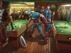 superheros-billard