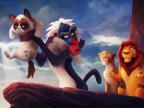 grumpy-cat-dans-roi-lion