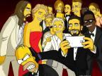 selfie-oscars-simpson