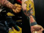 tatouage-sangoku-main-super-saiyan-3