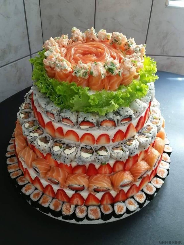 gateau-makis-sushis