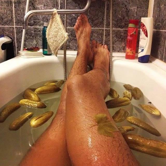 baignoire-cornichons