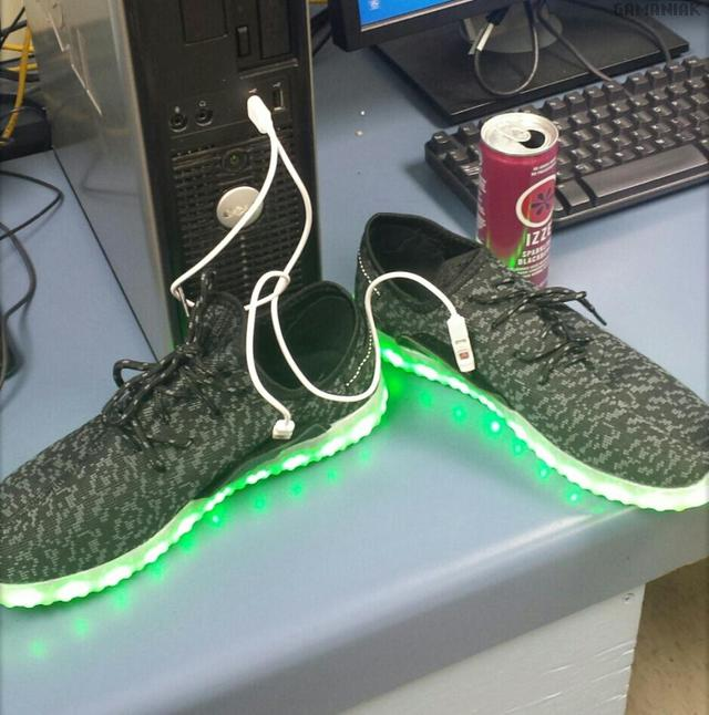 charger-chaussures-lumineuses-usb