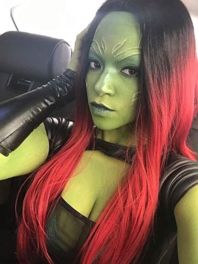 cosplay-gamora-gardiens-galaxie