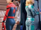 spiderman-fesses-captain-marvel