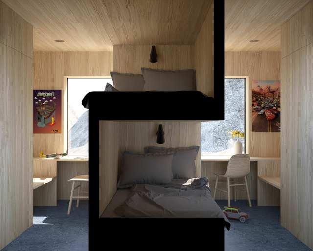 design-lits-superposes-chambre-avec-colocation