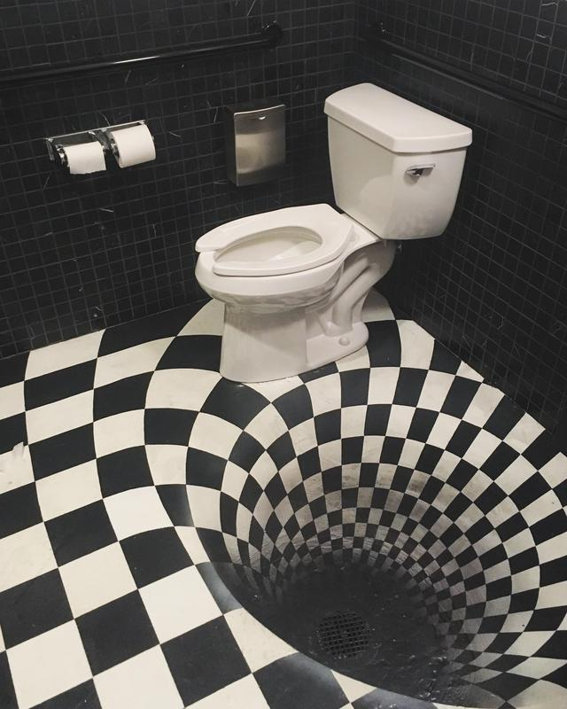 toilettes-carreaux-noirs-blancs-illusion-optique