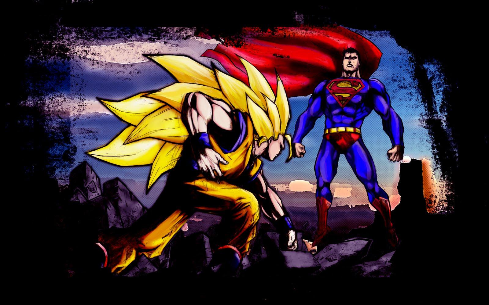 sangoku-vs-superman