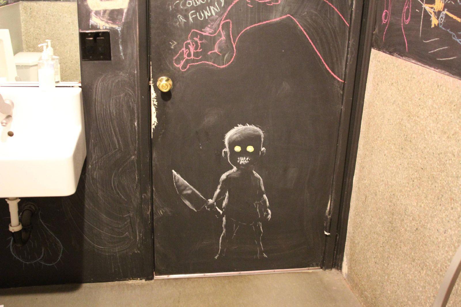 Прикольные рисунок для входной двери