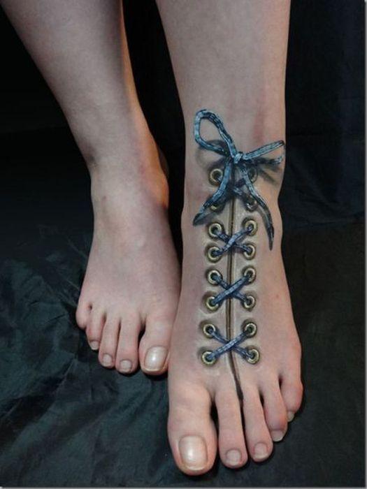 lacets-tatouage
