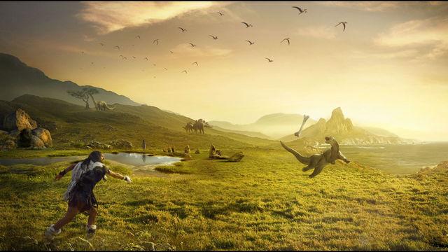 dinosaure-qui-attrape-os