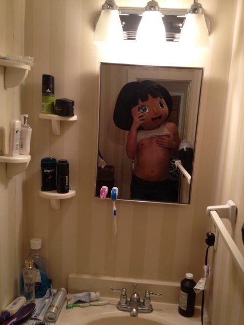 dora-coquine-face-miroir
