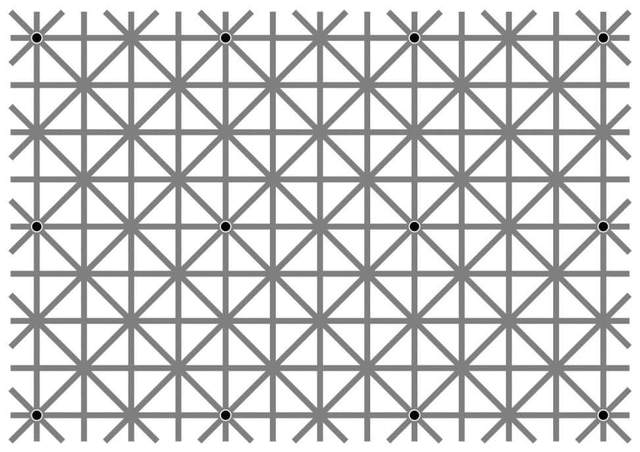 Image Impossible de voir les 12 points noirs en même temps