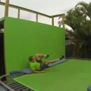 miniature pour Pied cassé sur un trampoline