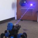 miniature pour Le robot araignée avec tir de laser radio commandé