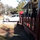 Accident de train dans un parc