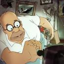 miniature pour Les Simpson : Une version française du Couch Gag