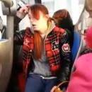 miniature pour Une petite fille réveille sa mère droguée dans le bus