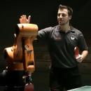 miniature pour Ping Pong :Timo Boll vs. KUKA Robot