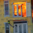 miniature pour Bloqué sur un immeuble en feu
