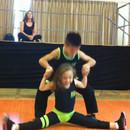 miniature pour Deux enfants doués en danse Salsa