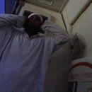 Se faire réveiller par une prière dans un avion