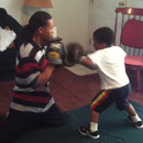 miniature pour Un petit de 5 ans futur champion de boxe