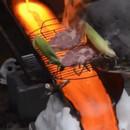 Cuisiner avec de la lave