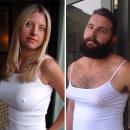 miniature pour Un homme imite la photo de profil des femmes