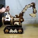 miniature pour Un jouet excavateur en bois