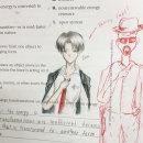 professeur-termine-dessin-eleves