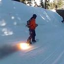 miniature pour Rocketboard, un snowboard équipé de fusées