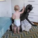 bebe-vole-lit-chien