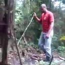 miniature pour Un homme attaqué par un jaguar