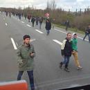 miniature pour Un chauffeur qui en a marre des migrants à Calais