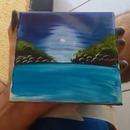 miniature pour Peinture à la main sur un carreau