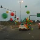 voiture-lacher-ballons-route