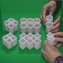 miniature pour Illusion d'optique avec des cylindres et un miroir