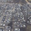 miniature pour 422 voitures détruites par le feu pendant un festival