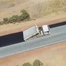 miniature pour 5 km de route construits en 2 jours en Australie