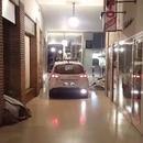 police-strasbourg-reveille-sdf-moteur-voiture