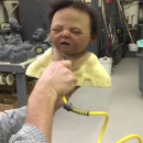 miniature pour Une tête de bébé gonflée