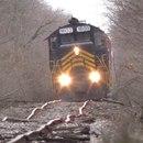miniature pour Un train qui roule sur des rails déformés
