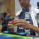 miniature pour Patrick Ponce avec 4.69s établit le record du monde au Rubik's Cube