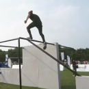 Speed Parkour de Joseph Henderson en Chine